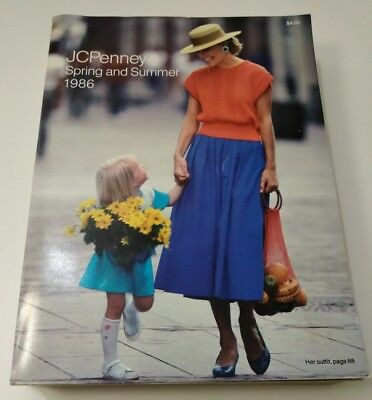 JCPenney Spring and Summer 1986 Catalog Vintage