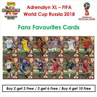 Adrenalyn XL - World Cup Russia 2018: Fans Favourites Cards