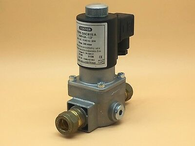"""Coster GNC815/A - VMR12A Gas Solenoid Valve - 1/2""""- Normally Off"""