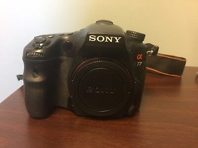 Sony Alpha SLT-A77 24.3MP Digital SLR Camera - Black (Body Only) PARTS
