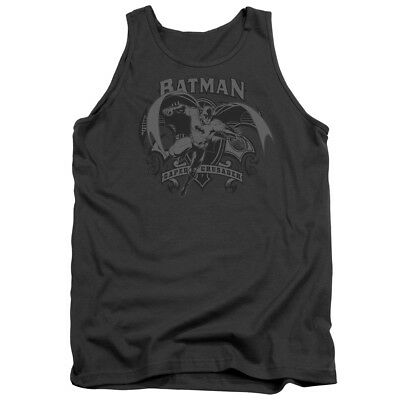 Batman CAPED CRUSADER Flying Bat Licensed Adult Tank Top All Sizes