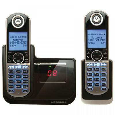 Motorola P1002 2-Handset DECT 6.0 Cordless Phone with Diagonal Display