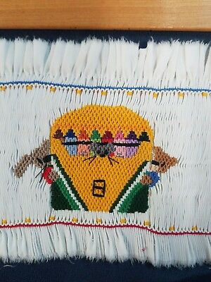 Ready to Smock panel CRITTER CRAYONS