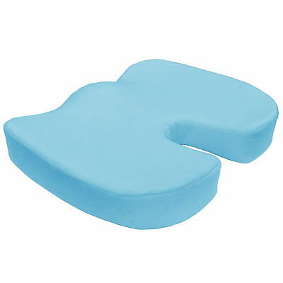 Memory Foam Coccyx Orthopedic Seat Cushion Chair Pain Relief Pillow