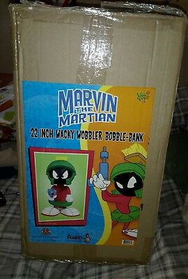 Marvin The Martian 22 Inche Bobble Head Piggy Bank Funko Marvin The Martian