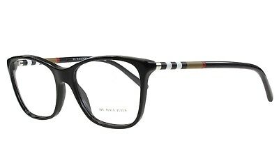 0d28a8955188 NEW Burberry Eyeglasses BE 2141 3001 Black Frame 53mm Original Case  Authentic