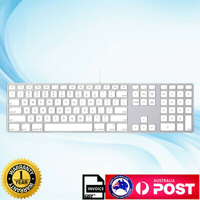 OEM Apple Corded Keyboard A1243 with Numeric Keypad for iMac G6