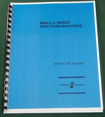 HP 8590 Series Service Guide in Three-Ring Binder