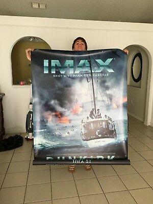 Dunkirk Original IMAX Bus Shelter GIANT Poster - 48x70 Double Sided Original