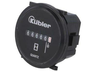 0.135.200.373 Counter electromechanical working time Range0÷99999,9h KUBLER