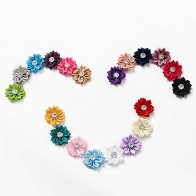 Baby Kids Girls DIY Flowers For Headband Hair Accessories Corsage Bow 20pcs/Lot