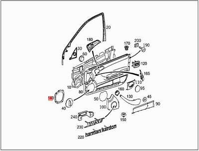 Genuine Mercedes Cl203 S203 W203 Wiring Harness For Camshaft