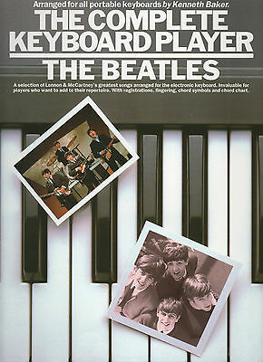 THE BEATLES For Easy Keyboard Sheet Music Book Songbook Pop Rock Chart Hits Best