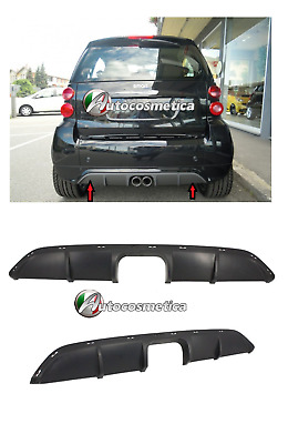 Griglia Nera Smart ForTwo For Two anche Cabrio '02-'06 Calandra Mascherina MC01_