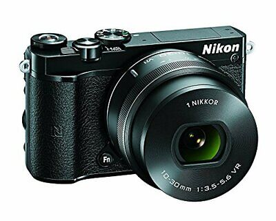 Nikon 1 J5 Mirrorless Digital Camera - Black w/10-30mm Lens