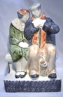 Rye Pottery  Figure Group The Lovers True Love