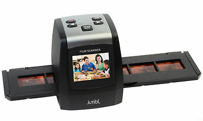 High-Resolution 22MP Jumbl Scanner/Digitizer - Converts 35mm Negatives & Slides