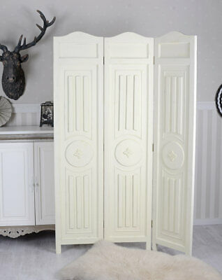 ROOM DIVIDER ROSES Screen Foldable Shabby Chic 19999 PicClick UK