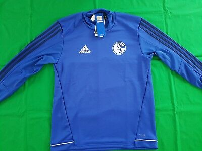 FC Schalke 04 Trainings Top 2017/18 Adidas M L -NEU- Sweatshirt