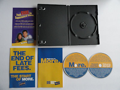 Blockbuster Video 2004 New Member Welcome Kit In Dvd Case - Rare Unique Piece