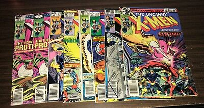 UNCANNY X-MEN -- Huge Lot of 41 Bronze / Copper Issues -- #118 to #194