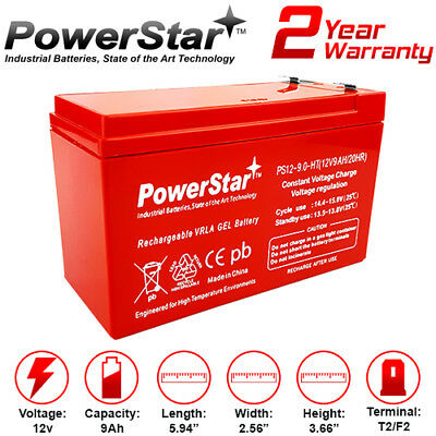 12V 9Ah EXP1290 Sealed Lead Acid Battery replaces 7ah 7.2Ah 8Ah