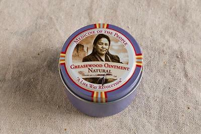 Navajo Medicine Of The People Greasewood Skin Ointment Eczema Psoriasis 2oz