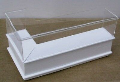 1:12 Scale White Painted Right Angle Shop Display Counter Tumdee Dolls House HWR