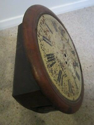 "Fusee 12"" Dial Clock Case for Restoration"