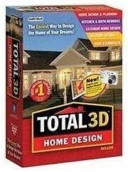 Total 3D Home Design Deluxe PC NEW