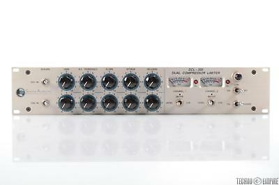 Summit Audio DCL-200 Dual Compressor Limiter Tube Stereo 2 Channel DCL200 #31117