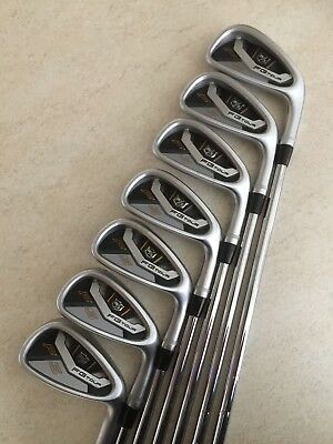 "Wilson Staff FG Tour F5 Irons 4 to PW X-Stiff KBS Tour 0.5"" Over Standard"