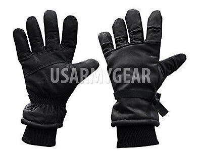US Army USMC Leather Cold Wet Weather ICW High Quality Gloves XS,S,M Women Kids