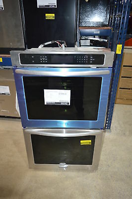 Kitchenaid Kebs207bss 27 Stainless Double Wall Oven Convection Used 242 Clw 1 499 00 Picclick