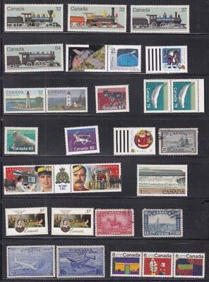 Canada (Mk1340) #ce1,ce2  Vf-Mnh  Various Mint & Used Issues Cat Value $33