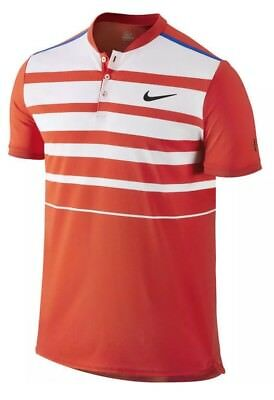 571083803 Nike Court RF Premier Tennis Polo New Roger Federer Miami Open Men's Size  Large