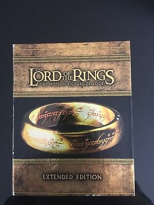 The Lord Of The Rings Trilogy - Extended Edition (Blu-ray)
