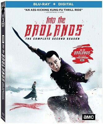Into The Badlands: Season 2 [New Blu-ray] 3 Pack