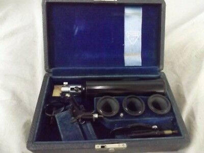 Vintage Bausch & Lomb Ophthalmoscope with Hard Case