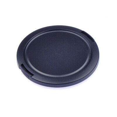 77mm Plastic Snap-On Camera Lens Cap, Black