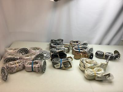 Lot of 18 Women's Fashion Belts with Gorgeous Buckles MSRP $360 Wholesale $60