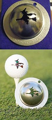 1 only TIN CUP GOLF BALL MARKER - THE WITCH HOCUS POCUS  EASY TO DO