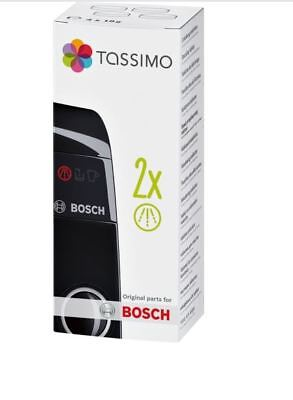 2 x Packs Bosch Tassimo Coffee Espresso Machine Descaler Cleaner Tablets TCZ6004