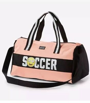 New Justice Soccer  Duffle Bag Brand new   💕💕💕💕glitters and sparkles