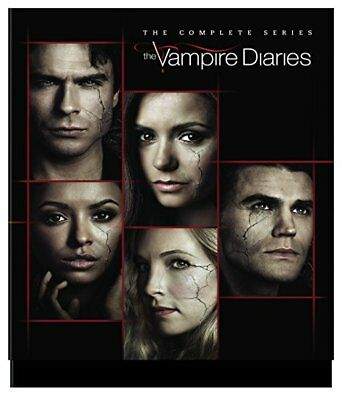 New & Sealed! TV The Vampire Diaries Complete Series Box Set Seasons 1 - 8