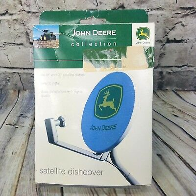 "John Deere Satellite Dish Cover - Fits 18"" and 20"" Satellite Dish's - NEW in BOX"