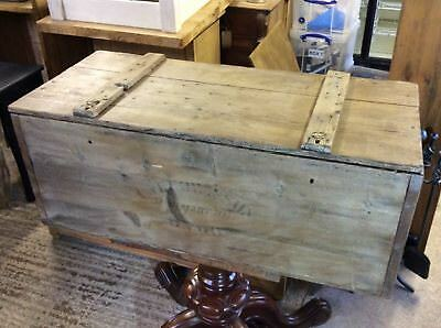 Reclaimed Antique Old Rustic Pine Blanket Box Chest 3`