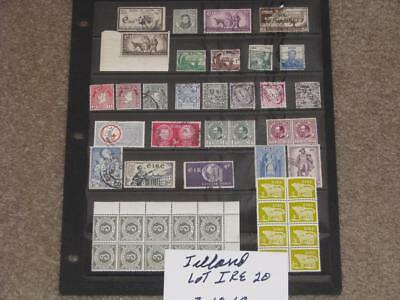 Ireland, small lot of Miscellaneous stamps, Lot# IRE20