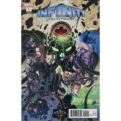 Infinity Countdown #1 Marvel Comics Agents Of S.H.I.E.L.D. 1:10 Variant