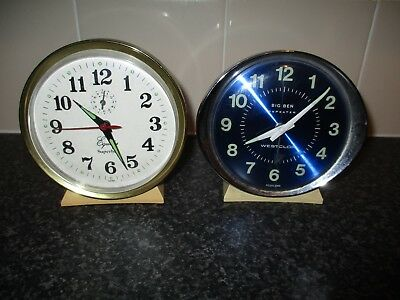 alarm clocks Two alarm clocks spares or repairs